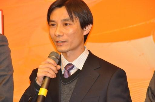 2013年1月23日,2012年度国内十大科技新闻入选单位代表大亚湾中微子实验室项目副经理曹俊发言。