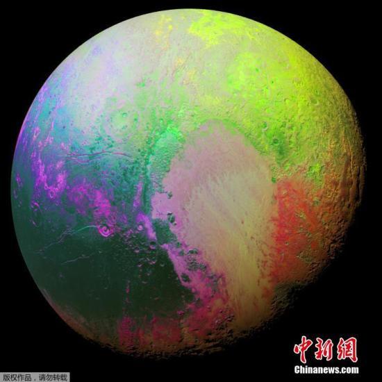 """冰山飘满烟雾:科学家发现冥王星上有""""云朵"""""""