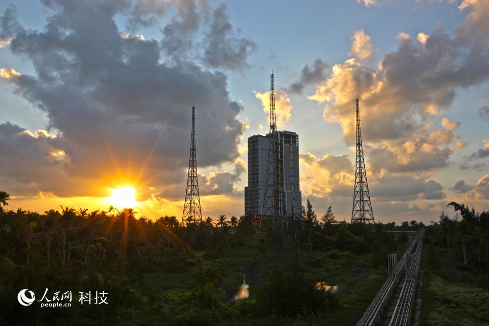 发射场日出 北京特种工程设计研究院供图 摄影刘牧