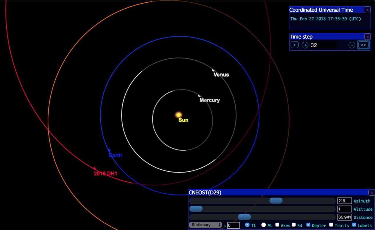 紫金山天文台新发现的近地小行星
