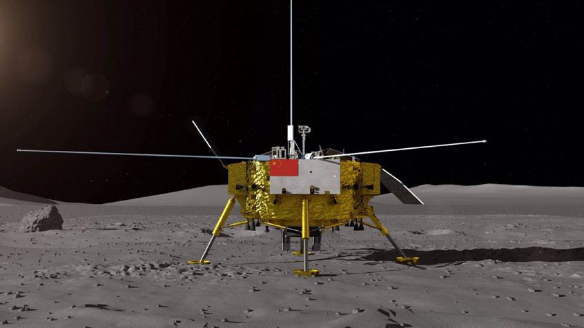 嫦娥四号着陆器月球车外观首次公布 月球车全球征名