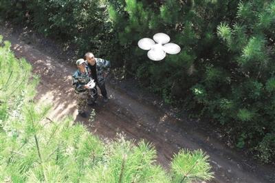 用科技手段立体化管理森林