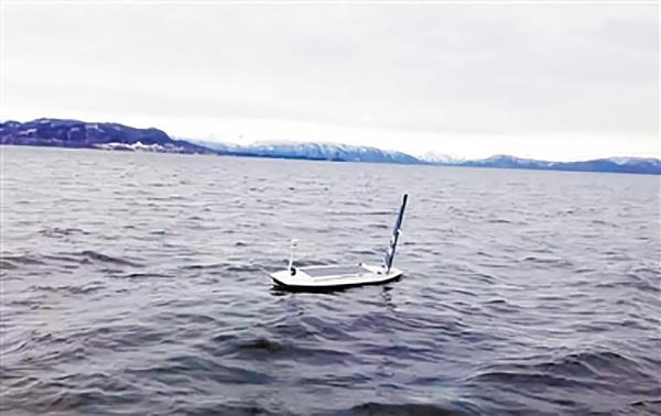 自动驾驶帆船首次横渡大西洋
