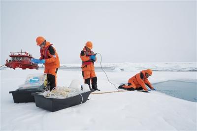 """全航程监测海水pH值 北冰洋成全球海洋酸化""""放大镜"""""""