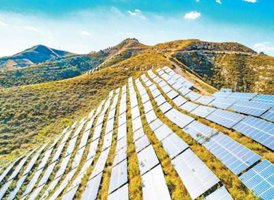光伏发电项目壮大绿色经济