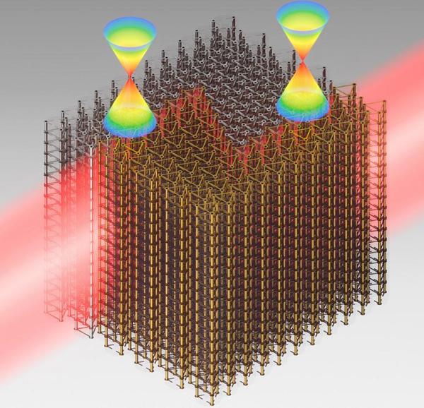 首个三维光学拓扑绝缘体研制成功