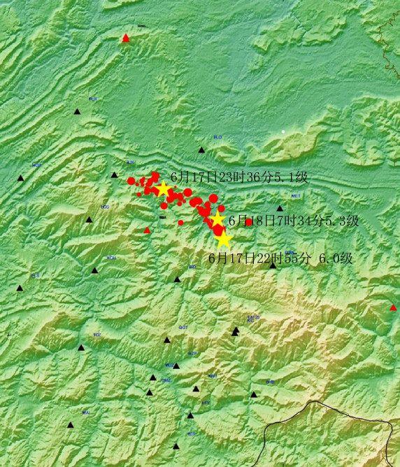 四川长宁6.0级地震解读:为走滑型地震 余震较频繁