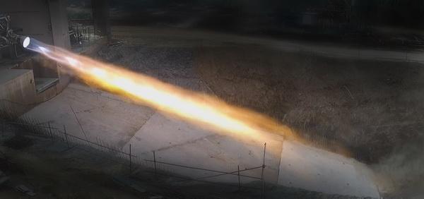 国内推力最大可重复使用液氧甲烷发动机100%推力试车成