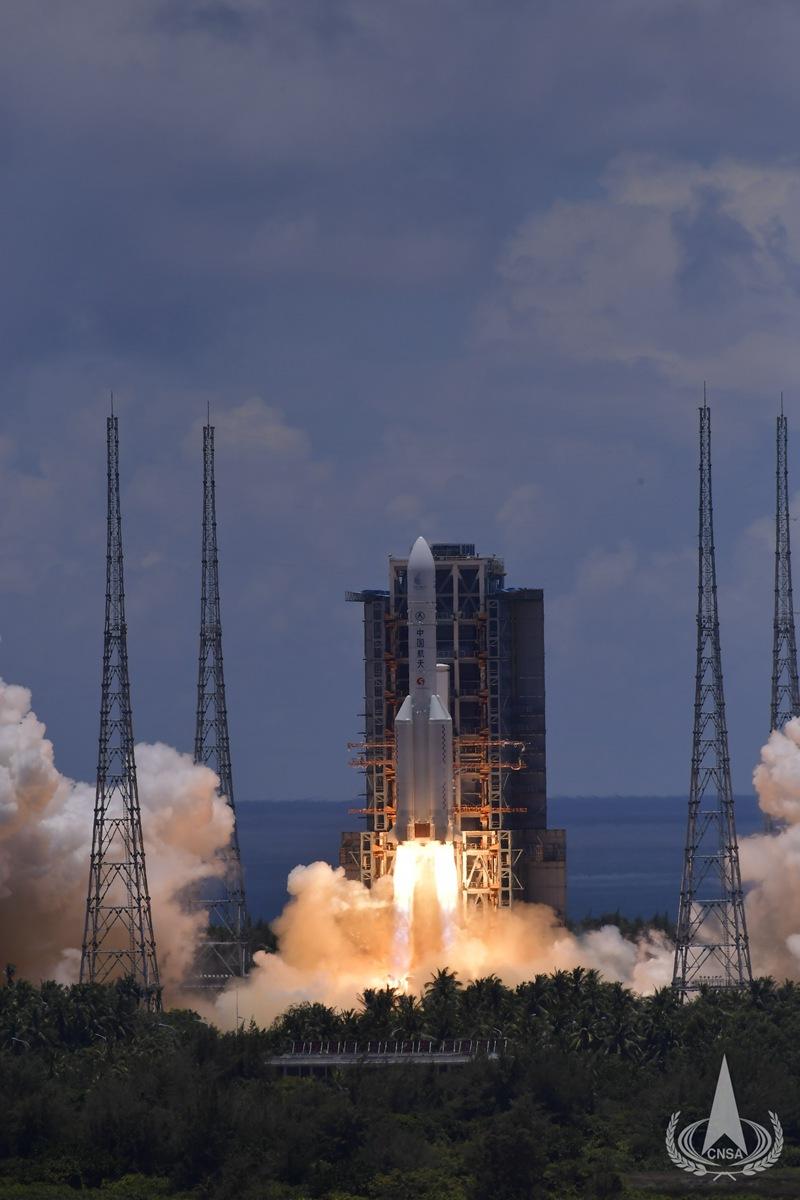 我国首次火星探测任务发射成功迈出深空探测崭新一步
