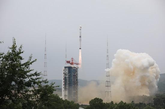 资源三号03卫星成功发射升空