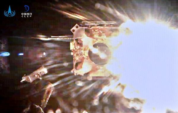 嫦娥五号上升器进入预定轨道实现我国首次地外天体起飞
