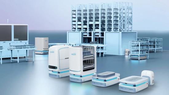 优必选科技携新品亮相CES2021聚焦智能物流和智慧防疫
