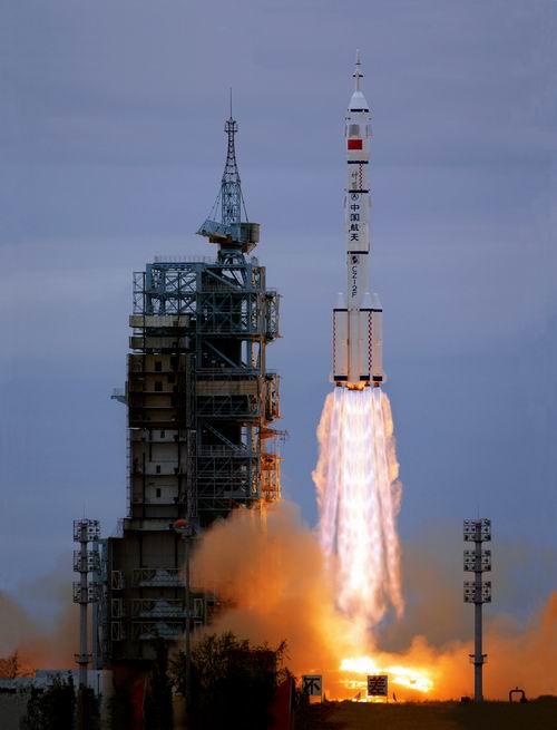 记中国酒泉卫星发射中心发射测试站