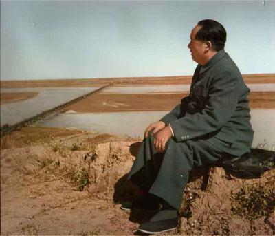 毛主席视察黄河 - 匆匆过客九龙山 - 匆匆过客九龙山的博客