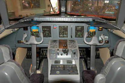 arj21驾驶舱模型