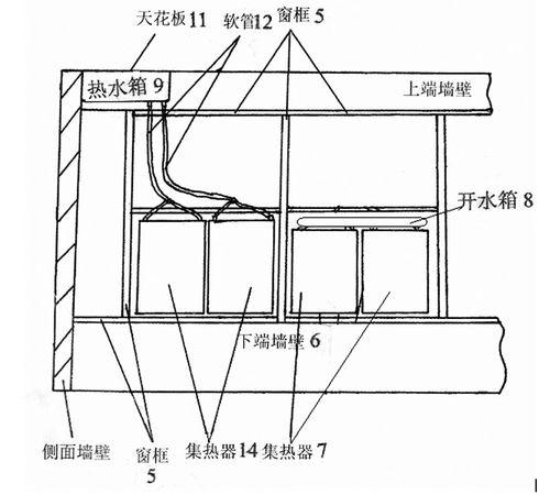 楼房顶有太阳能,咋样搭彩钢瓦房顶结构图