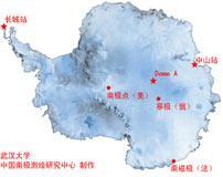 南极四个战略点