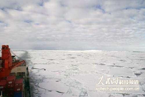 冰雪突围路:经历暴风雪 雪龙船破冰而行 - 黔中人 - 黔中人