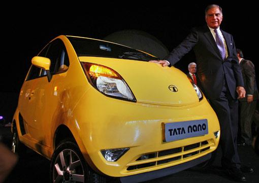 世界最便宜汽车 印度 NANO 上市高清图片