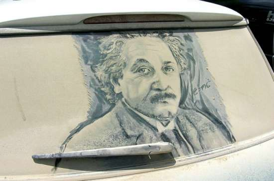 美国 尘土/爱因斯坦的肖像...