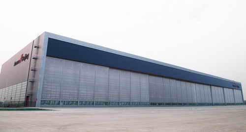 2北京飞机维修工程有限公司a380机库工程