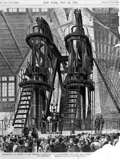 机械结构素描画