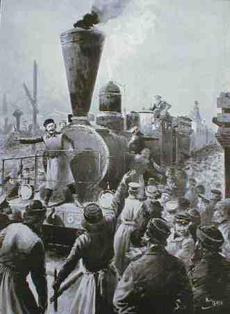 科技 西伯利亚/西伯利亚铁路通车