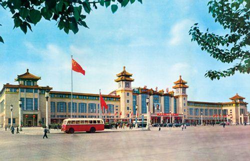 北京火车站--科技--人民网