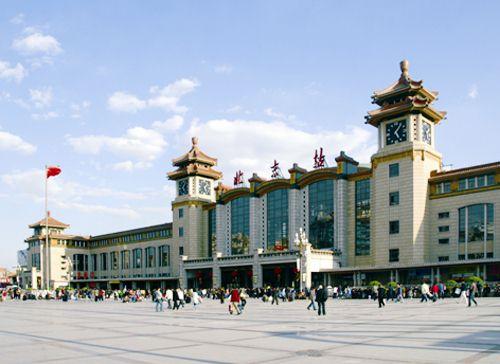 北京火车站工程建设创造了系列全国第一