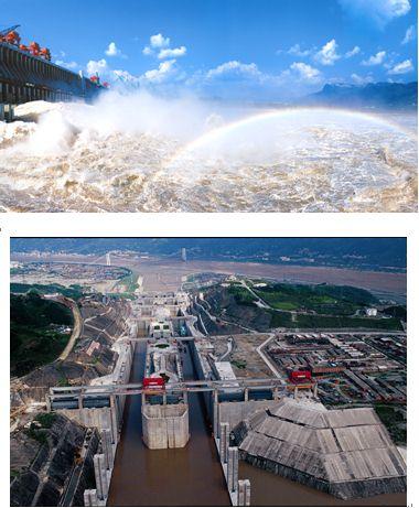 """长江三峡水利枢纽工程(以下简称""""三峡工程"""")主要由枢纽工程,水库淹"""