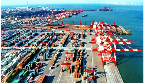 青岛港前湾港区一、二、三、四期工程--科技--