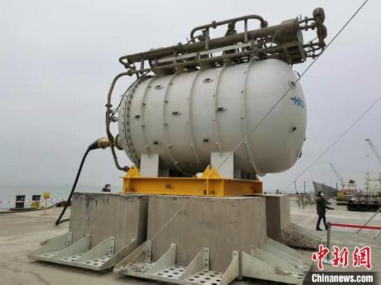 中国首个海底数据舱在珠海揭幕可有效节约能源、资源