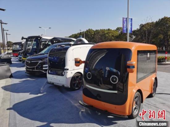 """上海形成智能网联汽车产业格局打通出行""""最后一公里"""""""